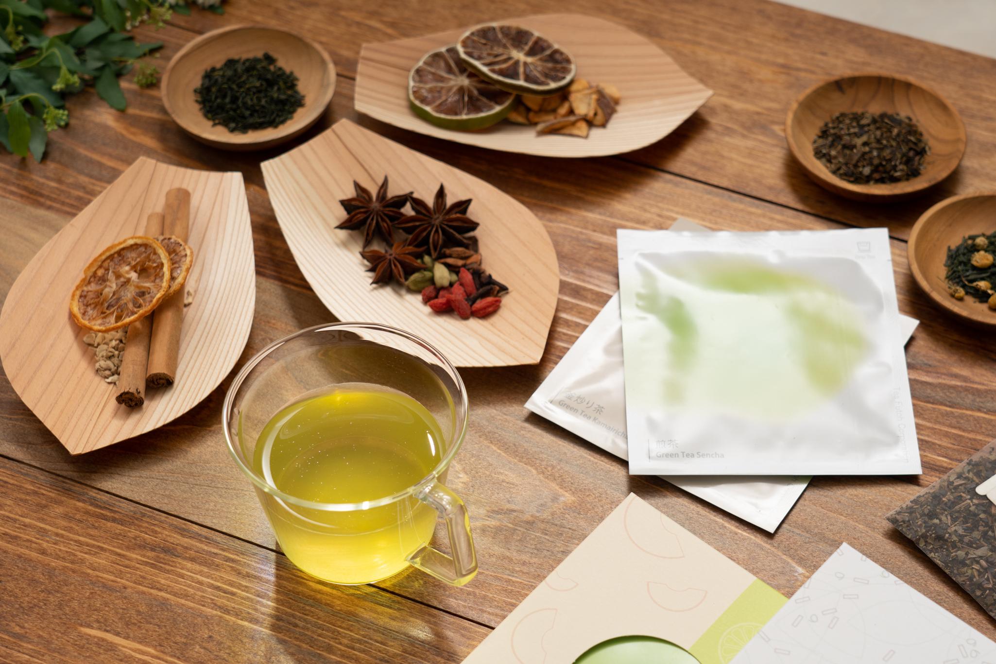 日本茶・紅茶のアレンジ