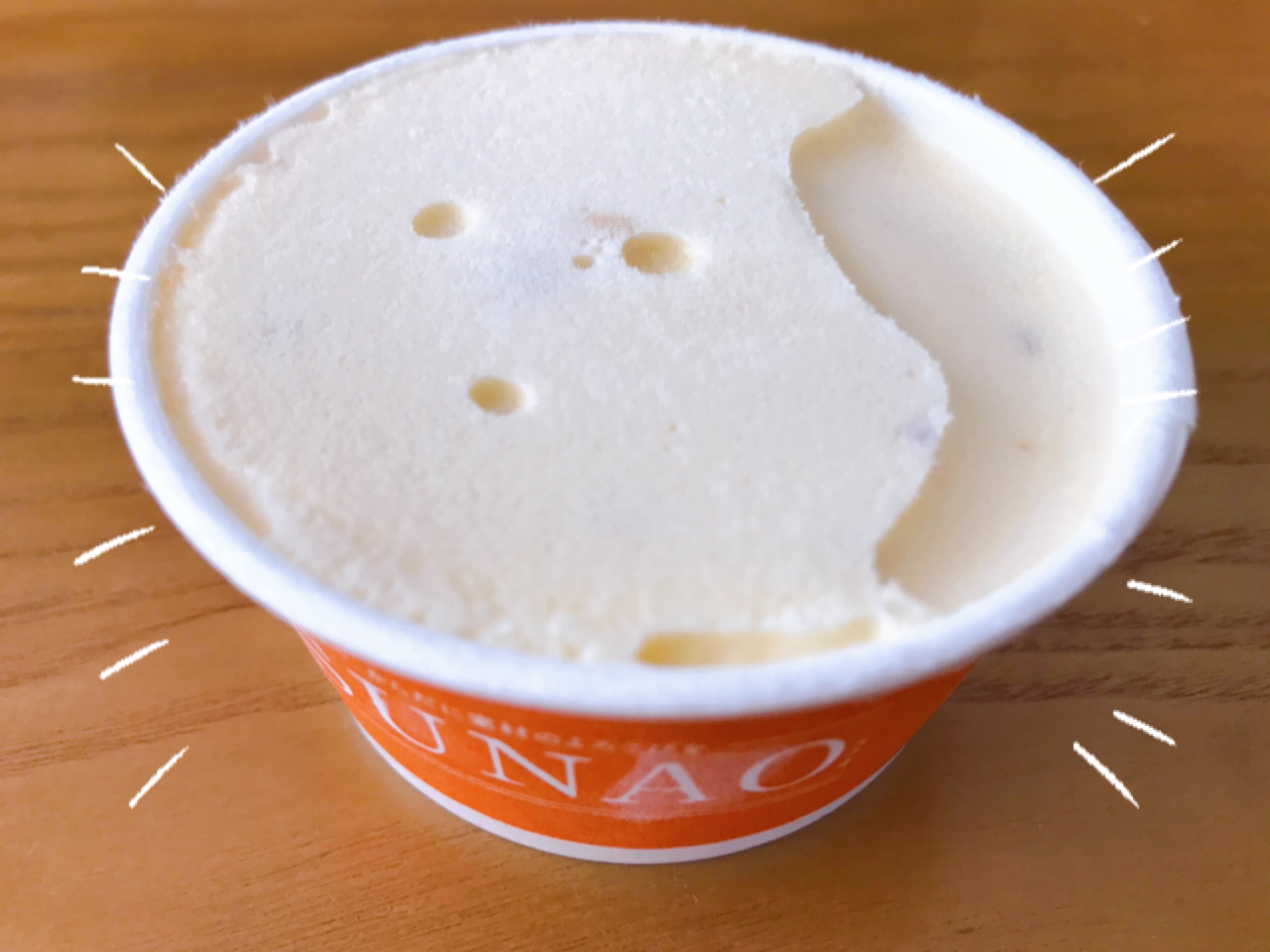 SUNAOのアイス